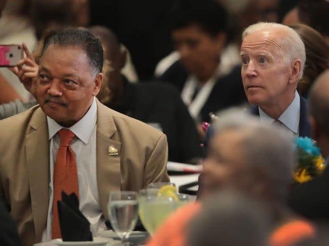 Biden défend son record de course devant une audience noire à la convention Rainbow-PUSH