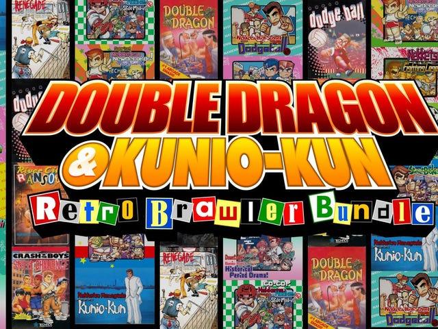 The Double Dragon & Kunio-kun Retro Brawler Bundle hits Switch, PS4, and PC on February 20