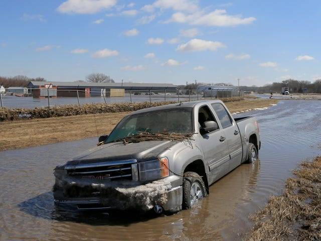Massive Flooding Follows in Bomb Cyclone's Wake, With Nebraska Floods Possibly Worst in 50 Years