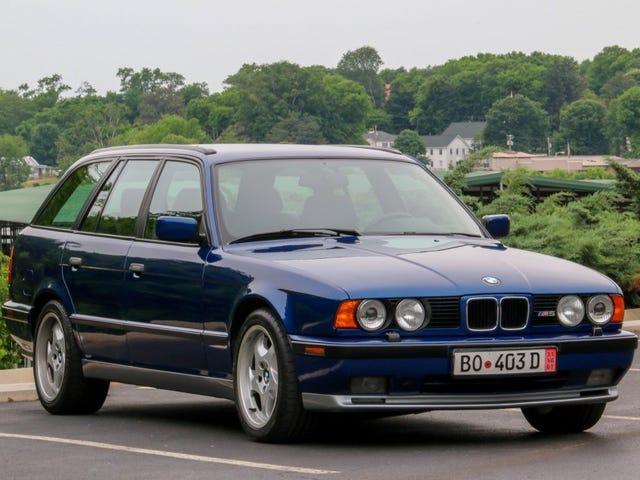 Υπήρξε ένα BMW M5 Wagon με τον κινητήρα McLaren F1 σε αυτό ???