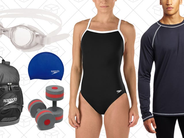 Do Some Laps at The Gym, Or Just Hit The Jacuzzi, With This One-Day Speedo Sale