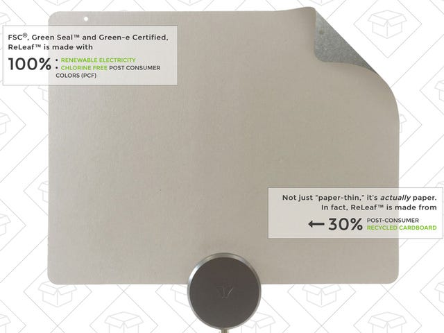 Save $20 on Mohu's Newest Antenna, Which Is Actually Made From Recycled Cable Boxes