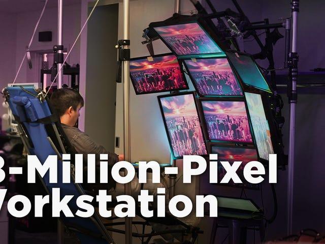 Ich habe diese benutzerdefinierte 18-Millionen-Pixel-Workstation bei Craigslist gekauft, und sie hat mich fast ruiniert