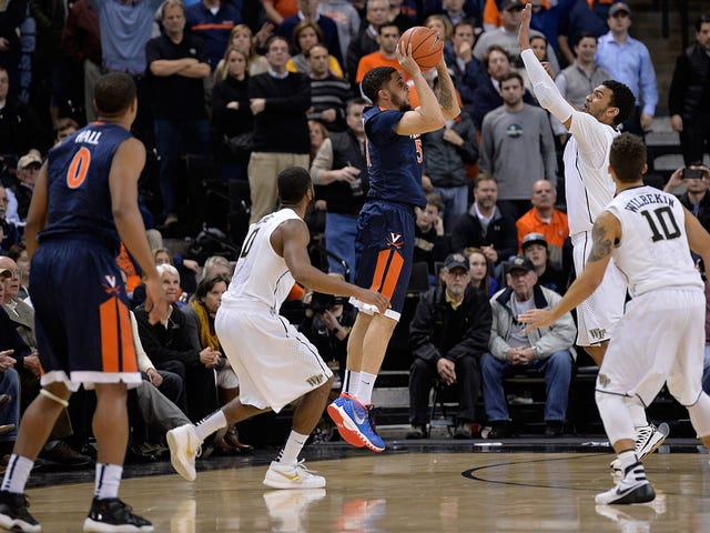 Virginia Caps Unlikely Comeback Against Wake Forest With Buzzer-Beating Banked Three