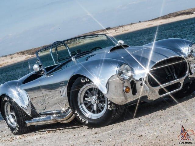 เพิ่งพบรถคันนี้: แบบจำลอง Kirkham Cobra