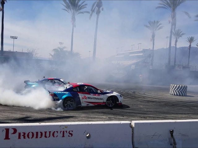 James Deane and Piotr Wiecek Donuts at Hoonigan
