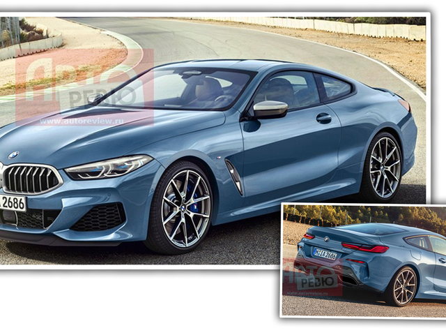 Leaked Images Of The New BMW 8 Series Show It's Very Close To The Concept