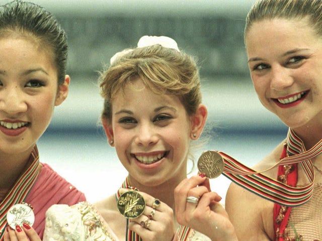 Laissez la victoire de Tara Lipinski, âgée de 14 ans, en patinage artistique vous faire sentir comme un sous-performant
