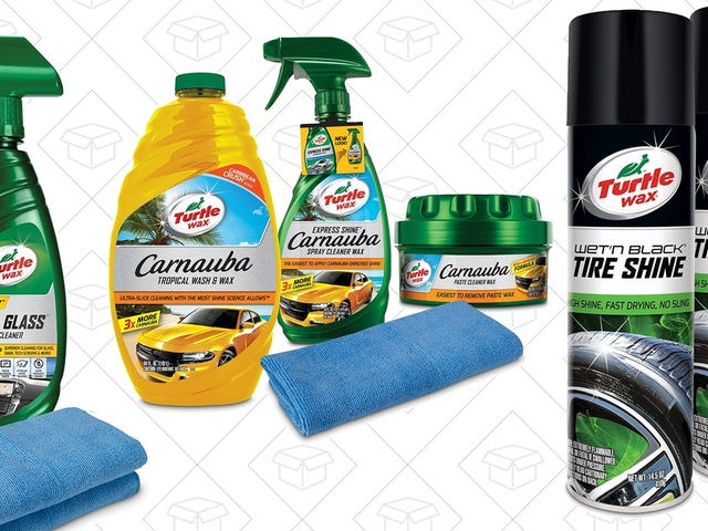 Get Your Car Ready For Spring With 20% Off Turtle Wax Products