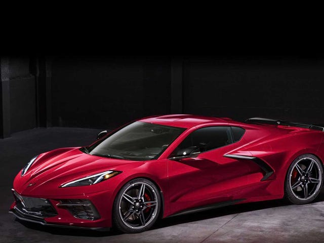 Voici la Corvette Mid-Engine 2020 avant que vous ne deviez la voir