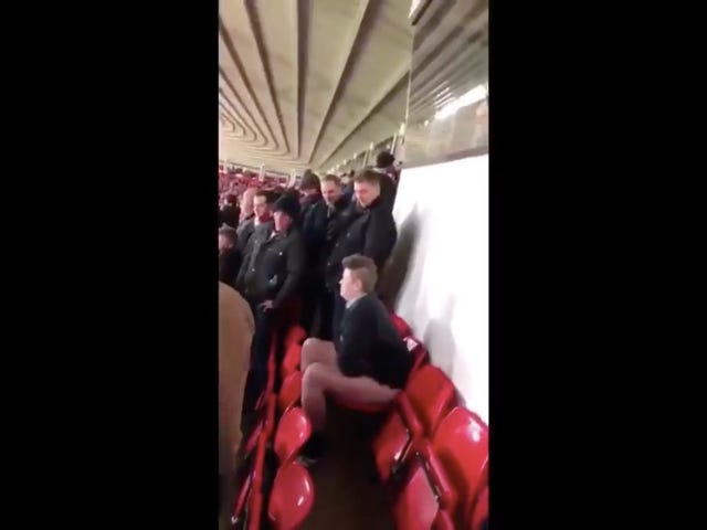 Sunderland Fan Explains That He Did Not Drunkenly Shit In His Stadium Seat