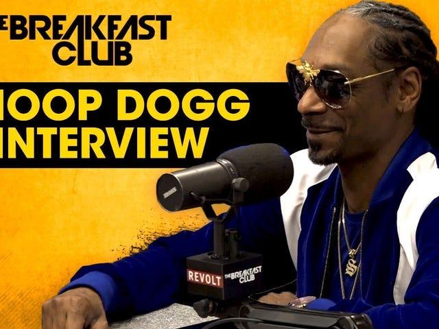 Snoop, var vänlig och skicka oss din råga om Trump, Mr 'Tits är inte skit'