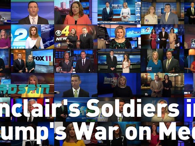 Comment le plus grand propriétaire de télévision locale en Amérique a transformé ses ancres de nouvelles en soldats dans la guerre de Trump sur les médias