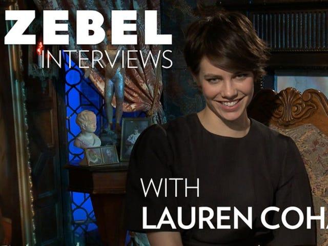 우리는 The Boy 의 무서운 모성 심리에 관해 Lauren Cohan과 통화했습니다.
