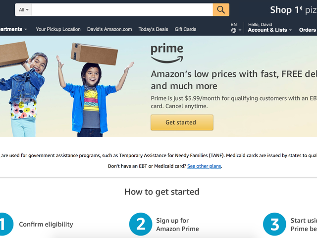 How to Sign Up for Amazon's Medicaid Prime Discount