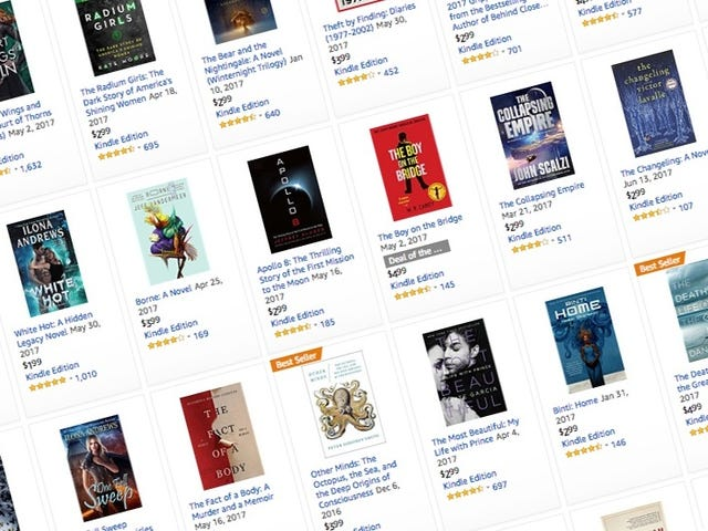 Fill Your Kindle Library With Goodreads' Best Books of 2017
