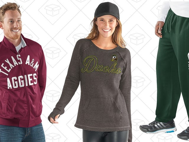 Support Your School With Amazon's One-Day NCAA Apparel Sale