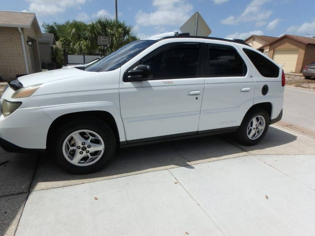 At $6,000, Could This 2003 Pontiac Aztek Make You a Happy Camper?