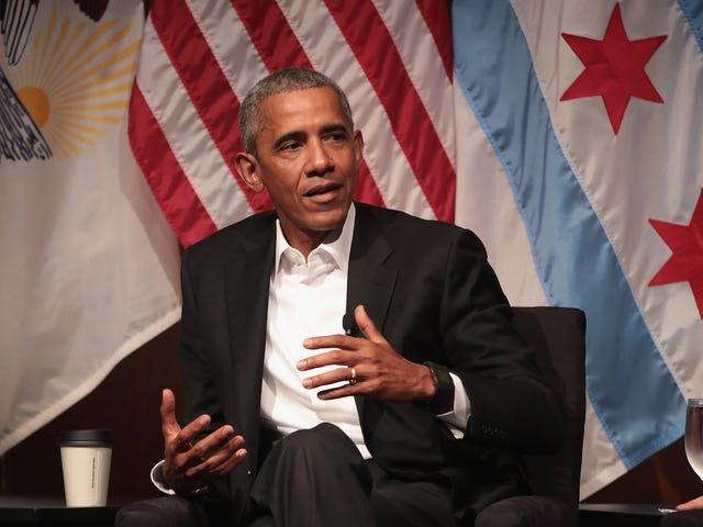 Barack Obama เตือนเราว่าประธานาธิบดีสมาร์ทฟังดูได้อย่างไร