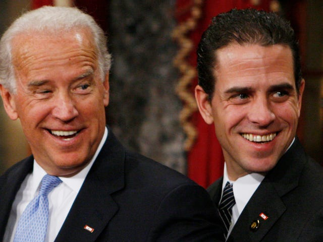 Hunter Biden Sure Is a Messy Bitch