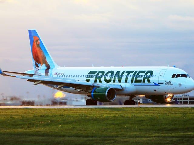 グリーン特典:フロンティア航空は「グリーン」の姓を持つ乗客に無料のフライトを提供しています
