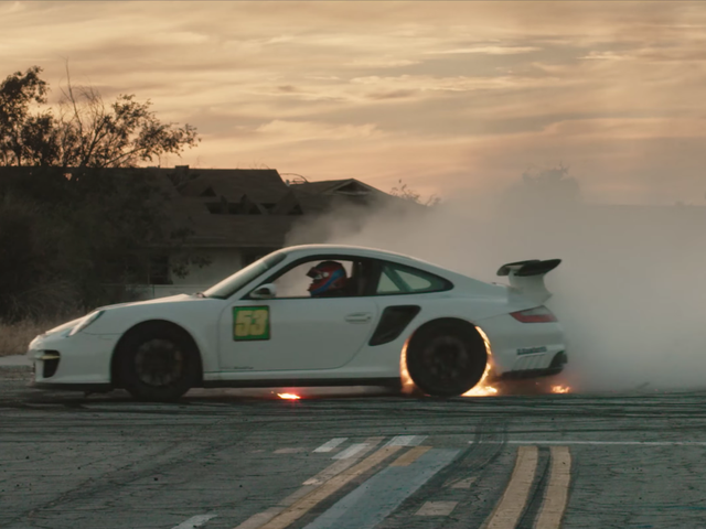 Watch This Modified Porsche 911 Hooning Its Heart Out in aTony Hawk Pro Skater 4 Tribute