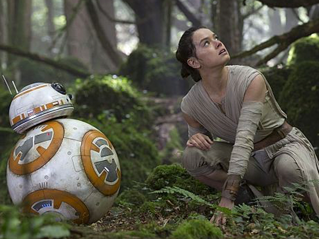 Lignes sans spoiler de Star Wars: The Force Awakens , classé