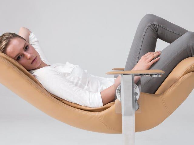Je kont verdient deze $ 26.000 stoel waardoor je je gewichtloos voelt