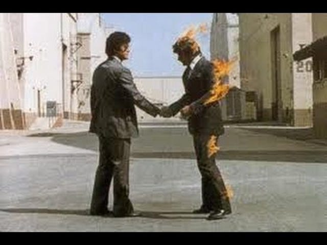 Pink Floyd - 'Keşke burada olsaydın'