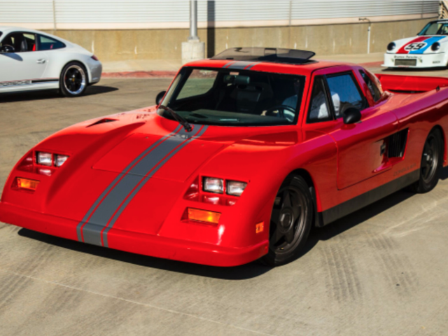 Ugly 1990 Mosler Consulier GTP is Ugly- Just Sayin'