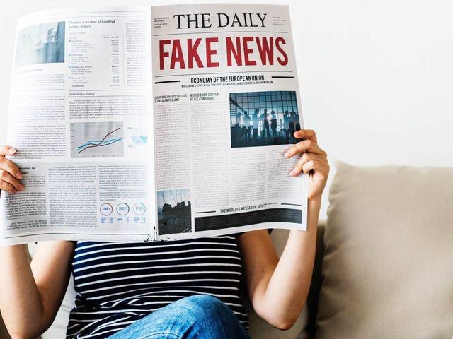 뉴스 사이트가 신뢰할 수 있는지 알려주는 방법
