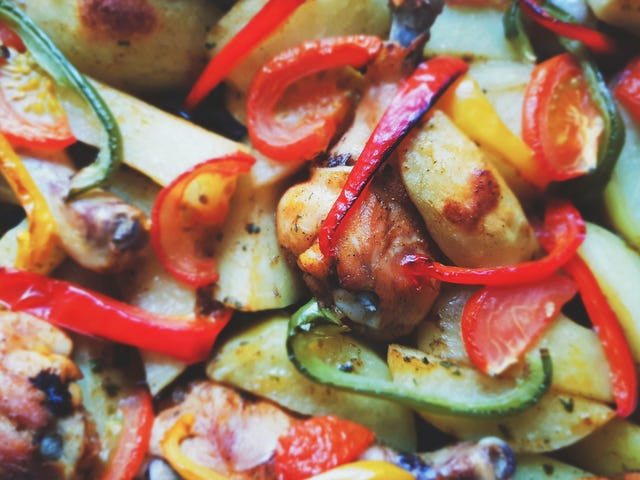 Grill Vegetables Before Pickling or Marinating Them