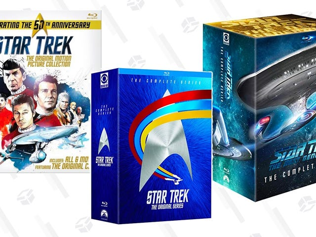 Live Long, and Save On These Star Trek Box Sets