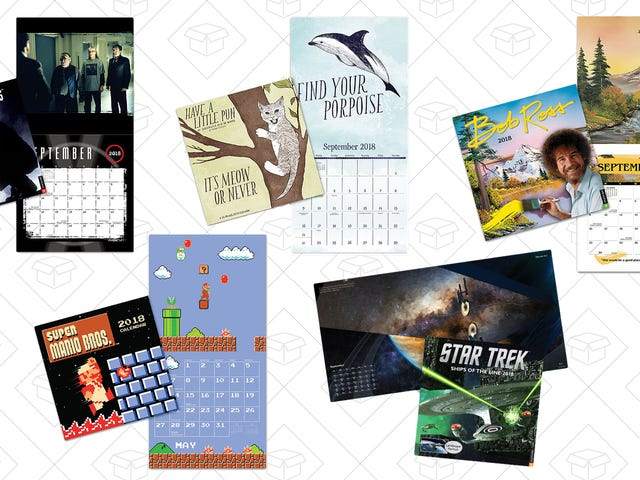 These $10 Calendars From ThinkGeek Won't Make Lame Gifts, I Promise