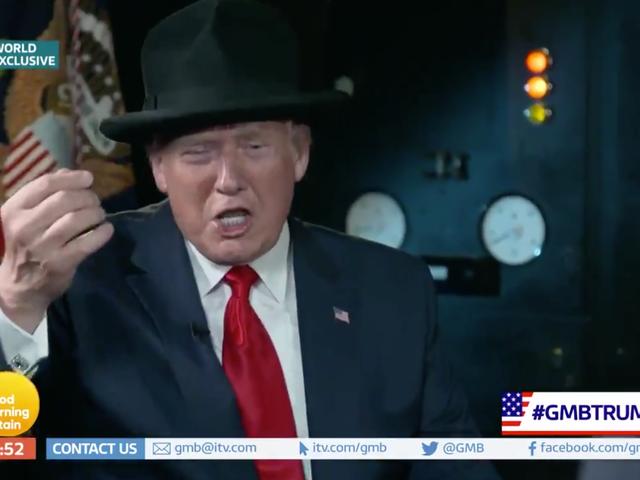 Ο Donald Trump έχει μια πολύ πειραματική εβδομάδα