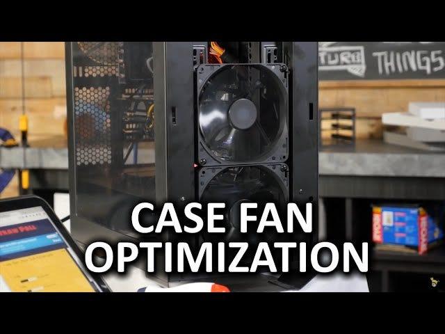 你的计算机可能只需要两个或三个风扇