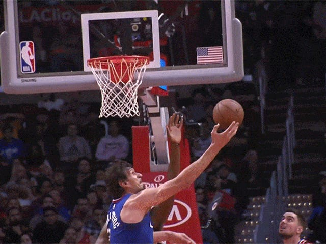 Boban Marjanovic Can Ferociously Dunk By Just Kinda Leaning Back