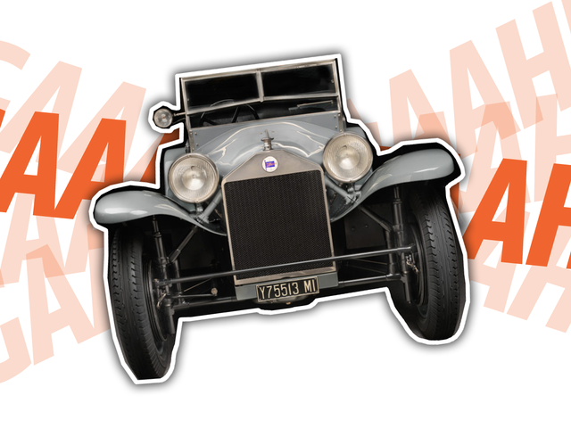 Human Science Developed The Most Surprised-Looking Car Ever Back In 1922
