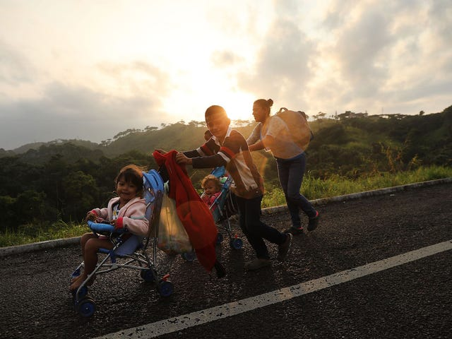 'We Hope to Change Trump's Heart': A Policy Advocate On Her Travels With the Migrant Caravan and How You Can Help