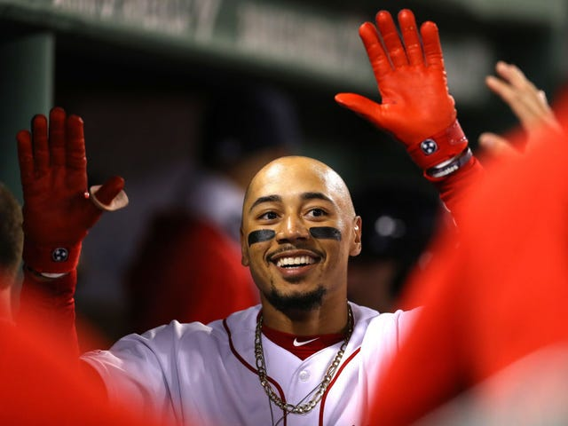Come On, The Red Sox Can't Actually Get Rid Of Mookie Betts, Can They?