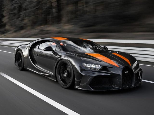 The Bugatti Chiron Just Cracked 304 MPH On Special Michelin Tires