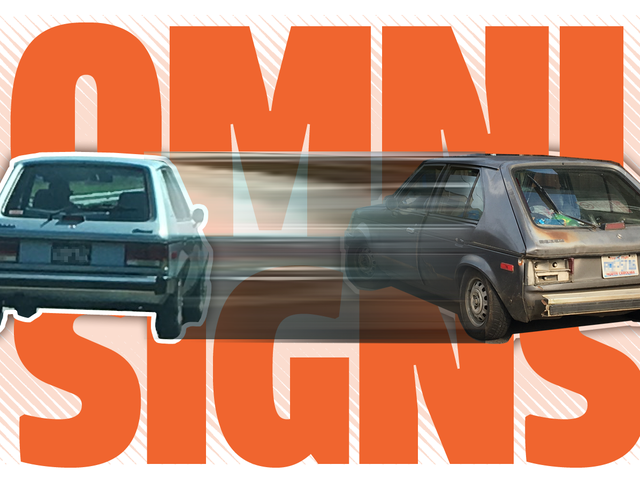 Help Me Understand the Mystery of the Sign of the Two Dodge Omnis, Good and Bad
