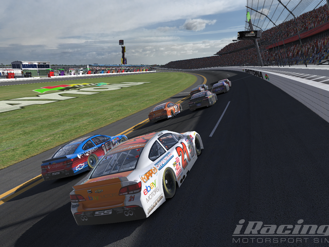 Team Oppo Competes in the iRacing Daytona 500