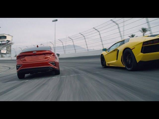 Kia Forte vs. Lamborghini Aventador, Will This Bitter Rivalry Ever End?!