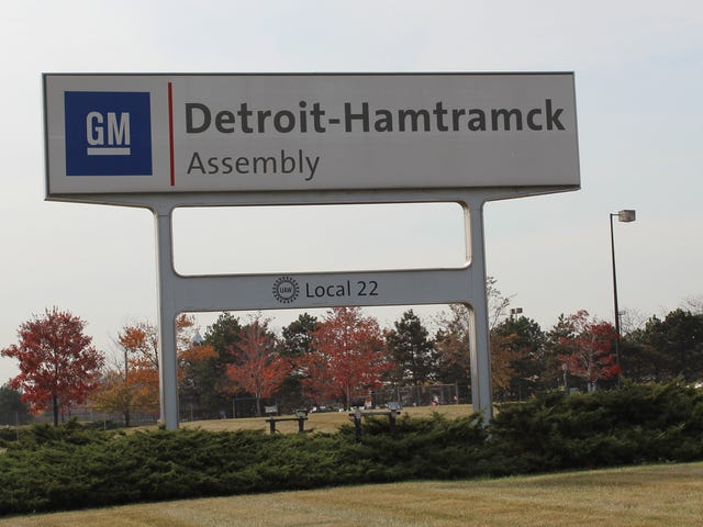 Detroit-Hamtramck Is Officially GM's First Dedicated EV Assembly Plant