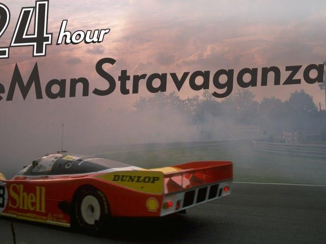 RSVP ที่นี่สำหรับงาน Le Mans ตลอด 24 ชั่วโมงของ Jalopnik ตลอดทั้งคืนงานเลี้ยงตลอดทั้งวัน