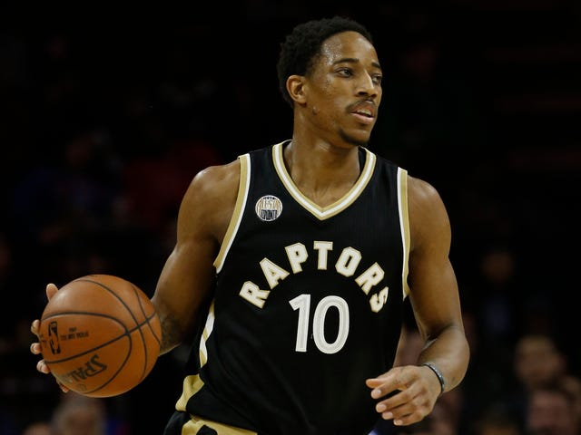 DeMar DeRozan Dunked All Over The Sixers Last Night