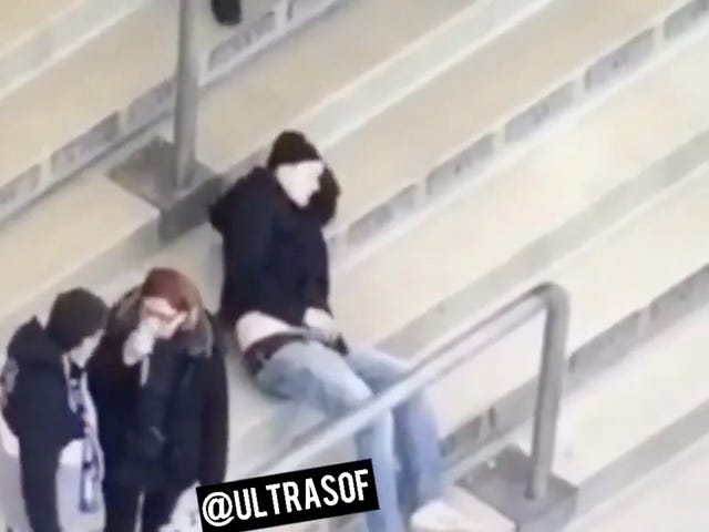 Man Caught Jerking Off In The Stands During Bundesliga Match [NSFW]