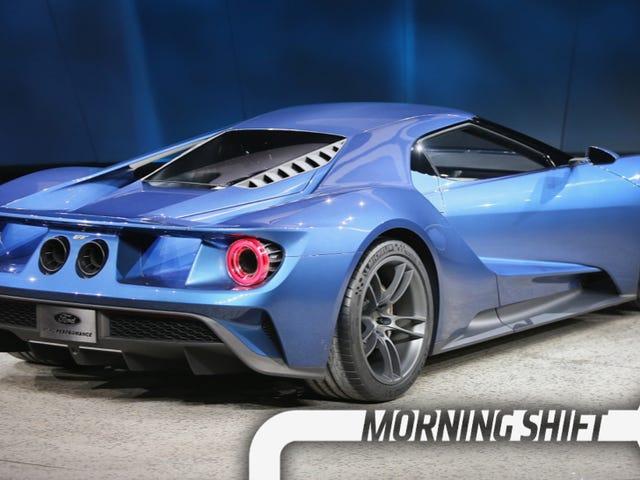 El nuevo Ford GT fue diseñado secretamente en un sótano de almacenamiento