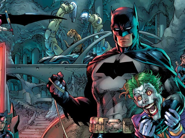 Batman celebrates his 80th birthday in Detective Comics #1000, a star-studded anthology extravaganza